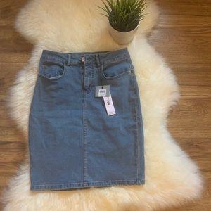 Dresses & Skirts - BNWT Vera moda Jean skirt